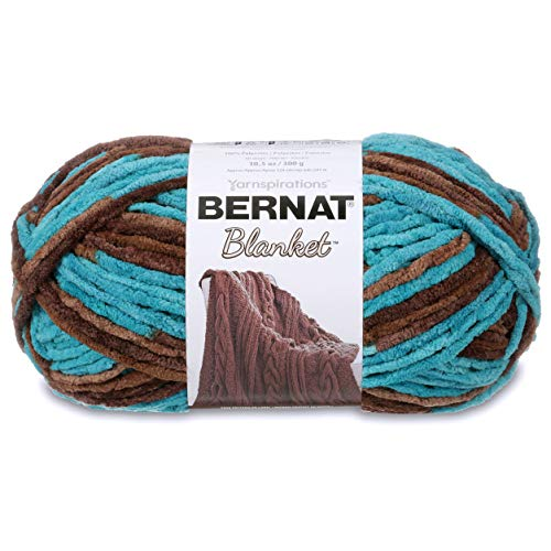 Bernat Blanket Yarn, 10.5 oz, Mallard Wood, 1 Ball