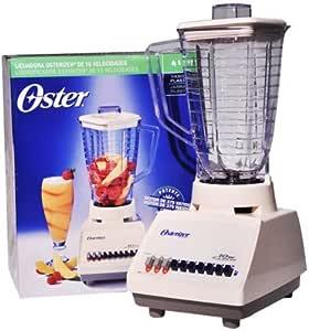 Oster 4107, De plástico, Acero inoxidable, Transparente, Color ...