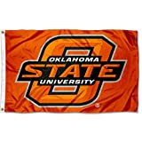 College Flags and Banners Co. Oklahoma State Cowboys Orange Flag