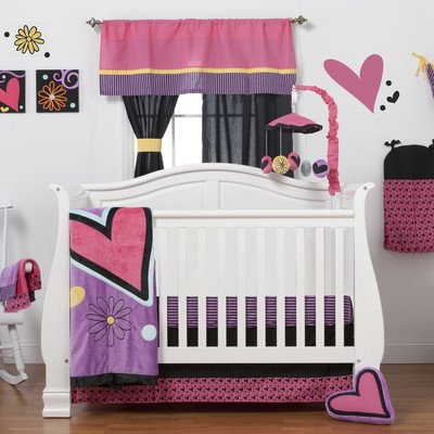 Sassy Shaylee 3 Piece Crib Bedding Collection by One Grace Place   B00YJZ8V1C