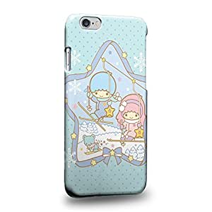 Case88 Premium Designs Little Twin Star Kiki And Lala Dreamy Diary 1326 Protective Snap-on Hard Back Case Cover for Apple iPhone 6 4.7