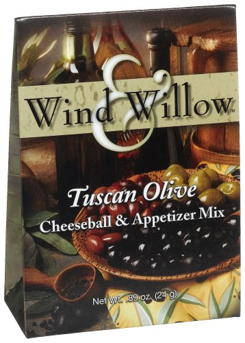 Wind & Willow Tuscan Olive Cheeseball, 0.89-Ounce Boxes (Cheeseball Olive Tuscan)