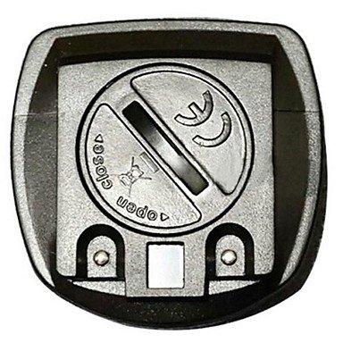GDW Cycling Mini Waterproof Black Computer Odometer Speedometer