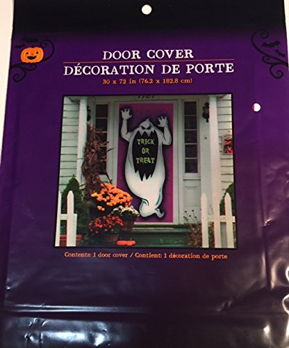Trick or Treat Door Cover Decoration 30 x 72 (Discount Classroom Decorations)