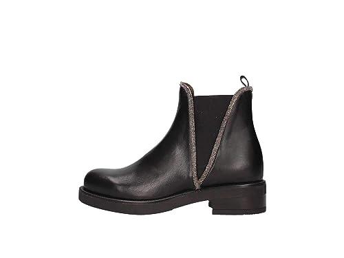 Albano 8006 Botines Bajos Mujer Negro 39: Amazon.es: Zapatos y complementos