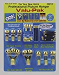 OOK by Hillman 50918 Professional Picture Hanging Value 17 Piece Pack Kit, hangs up to 17 frames