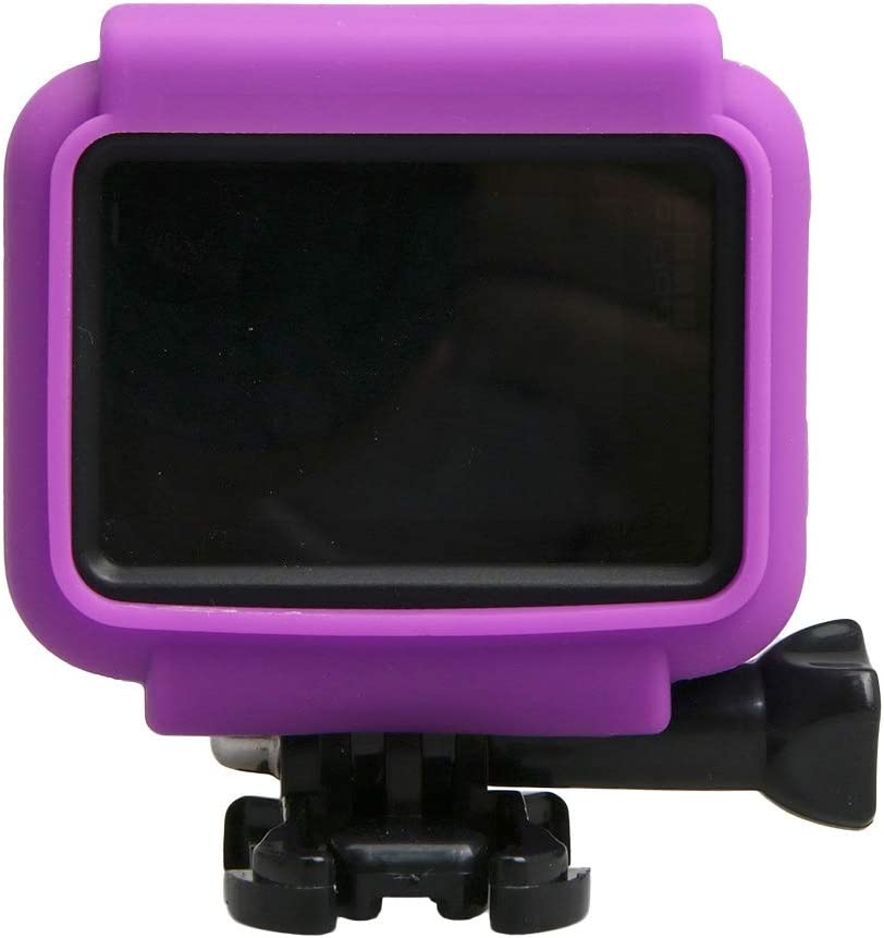 XHC Protective Case Black Color : Blue for GoPro HERO5 Silicone Border Frame Mount Housing Protective Case Cover Shell