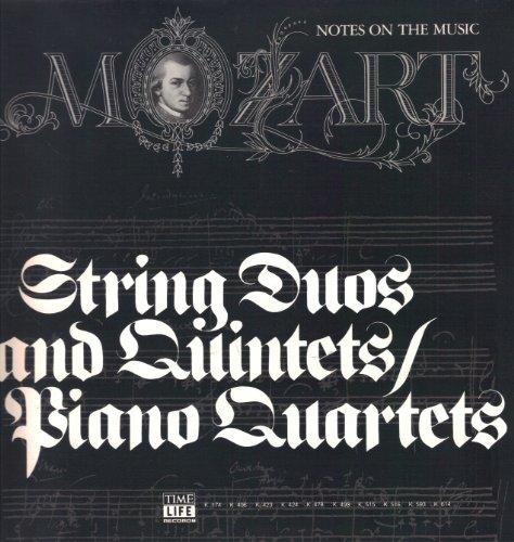 Price comparison product image Mozart: String Duos and Quintets / Piano Quartets [5-lp Boxed Set]