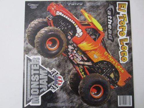 "UPC 849469007331, USHRA Monster Jam-El Toro Loco Fathead Logo Set 13""X9"""