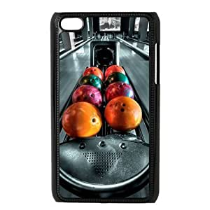 aqiloe diy Special Designer Strike Bowling Pins Ipod Touch 4 Case, Snap on Protective Bowling Ipod 4 Case