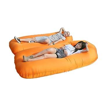 Mad sorrow Inflable Saco de Dormir Inflable Perezoso sofá al Aire Libre portátil sofá de Aire Saco de Dormir Cama de llenado rápido de Aire Saco de Dormir ...