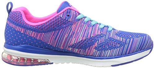 Outdoor Bleu Skechers Hot Multisport Infinity Femme Blue Pink Foam Memory Chaussures Air YYr7qw8