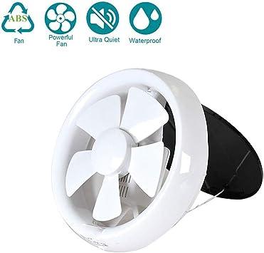 Ventilador Extractor De Aire Silencioso con Cordón De Tracción(175mm / 7 Pulgadas), Bajo Consumo De Energía 15W Hogar Baño Cocina Garaje Ventilación: Amazon.es ...