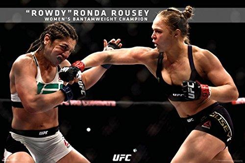 UFC - Ronda Rousey - UFC 190 Poster Print