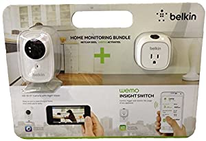 Belkin F5Z0559 Netcam HD+ & Wemo Insight Switch Bundle by Belkin International Inc.