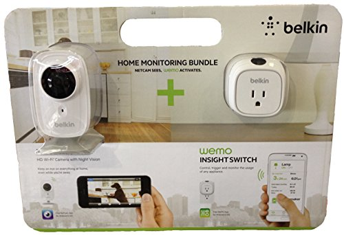 Belkin F5Z0559 Netcam HD+ & Wemo Insight Switch Bundle