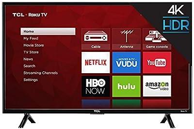 "TCL 43S403 43"" 4K UHD HDR Roku Smart LED TV (Certified Refurbished)"