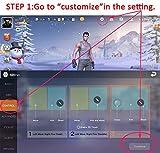 Batuzon PUBG Mobile Game controller, [UPGRADED
