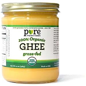 Grassfed Organic Ghee 14 oz (One Pint or 16 fl oz)