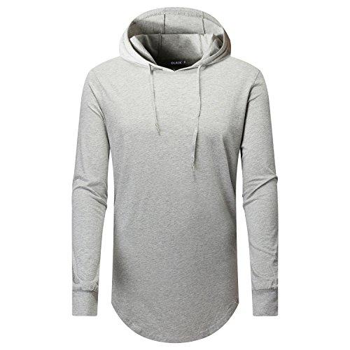 OLRIK Hipster Hoodie Zipper Tshirt