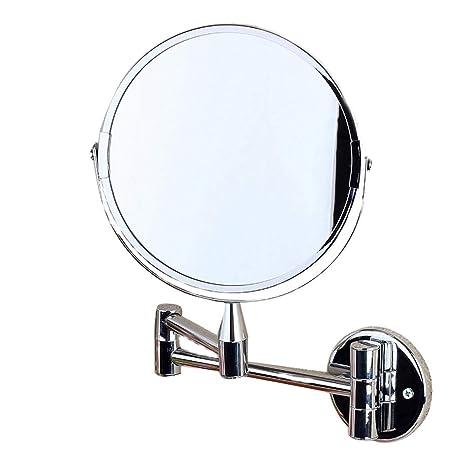 CRhzj Espejo De Mesa con Doble Cara Espejos De Vanidad De Pared ...