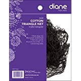 Diane Cotton Triangle Net, Black
