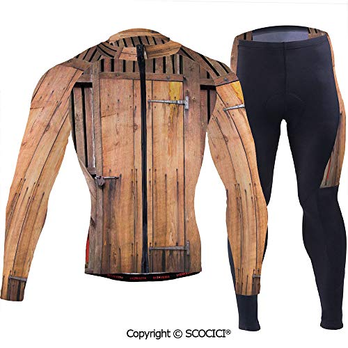Outdoor Bicycle Rider Bicycle Suit Bicycle Wear,Dated Simple Door Like in Constr