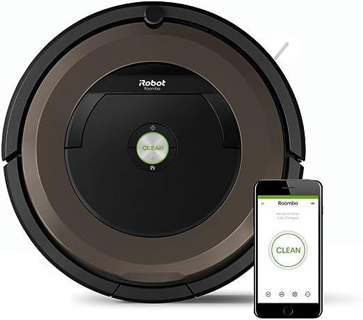 iRobot Roomba 896, Plástico, Negro, Marrón: 305.89: Amazon.es: Hogar