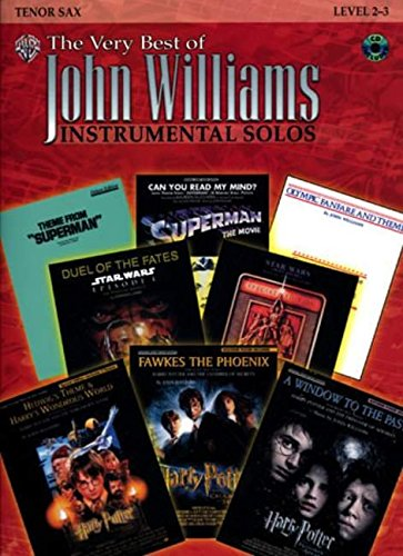 The Very Best of John Williams: Tenor Sax, Book &