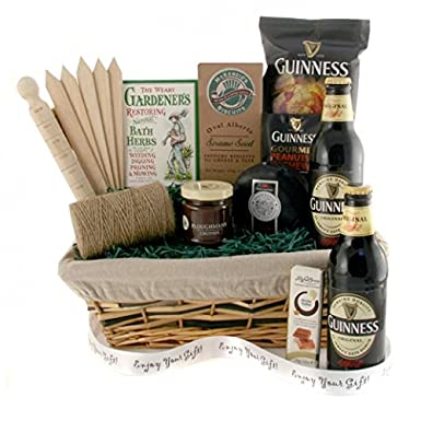 Guiness gift gift ftempo for Gardening gifts for him