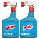 Windex Outdoor Glass & Patio Concentrated Cleaner, 2 ct, 32 fl oz