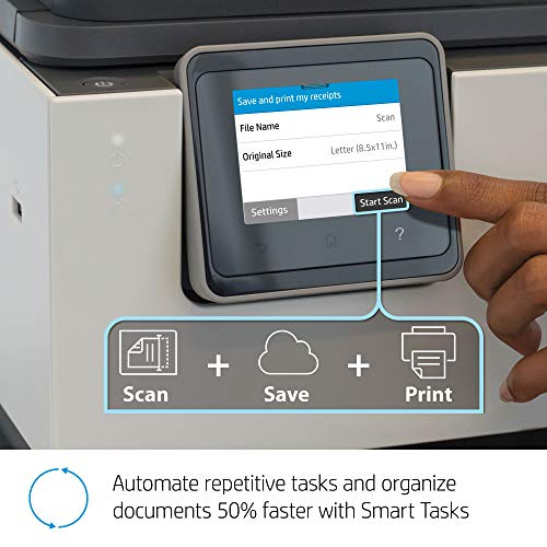 HP OfficeJet Pro 9015 All-in-One Wireless Printer, with Smart Tasks for Smart Office Productivity & Never Run Out of Ink with HP Instant Ink (1KR42A) by HP (Image #6)
