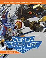 Digimon Adventure Tri.: Reunion (Bluray/DVD Combo) [Blu-ray] from Shout! Factory