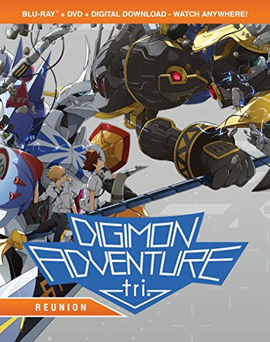 Digimon Adventure Tri.: Reunion (Bluray/DVD Combo) [Blu-ray]