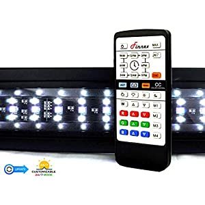 Finnex Planted+ 24/7 LED KLC Aquarium LED Light,  Automated Full Spectrum Fish Tank Light, 20 Inch 1