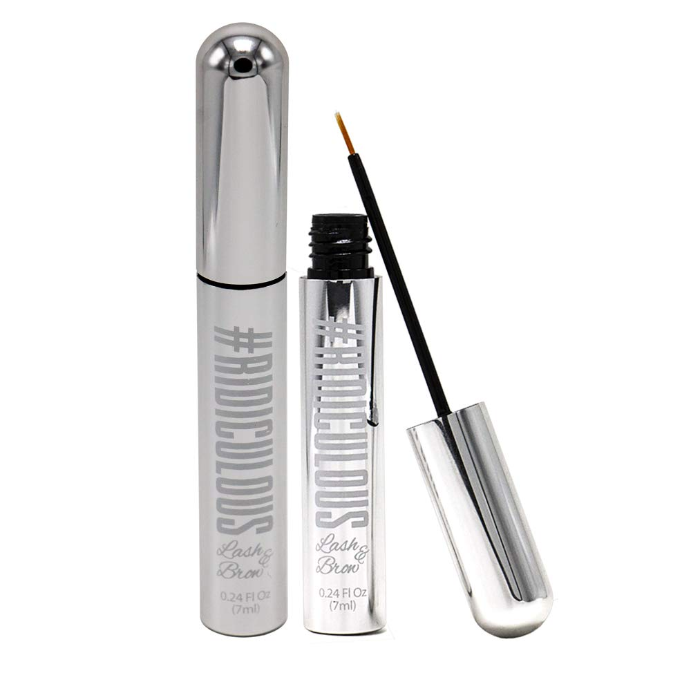 Ridiculous Lash and Brow - Eyelash & Eyebrow Growth Serum - For Fuller, Thicker, More Beautiful Eyelashes and Brows in WEEKS