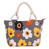 WongSinTong Women's Sunflower Purse Handbag Leisure Canvas Shoulder Tote Bag