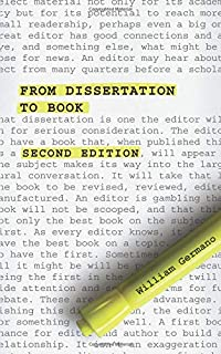 revising your dissertation advice from leading editors
