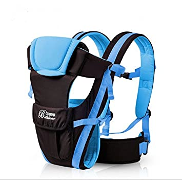 50801938a5c Amazon.com   Baby Carrier,Aierly Breathable Ergonomic Infant Baby Carrier  Backpack Front Pack Sling Wrap Newborn (Sky Blue)   Baby
