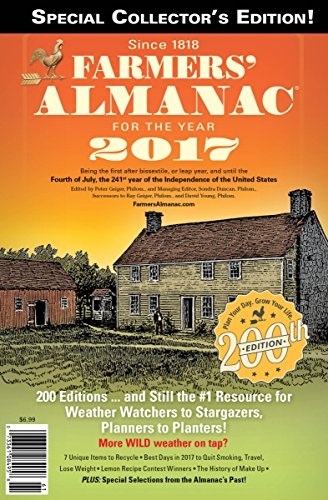 2017 Farmers Almanac 200Th Collectors Edition