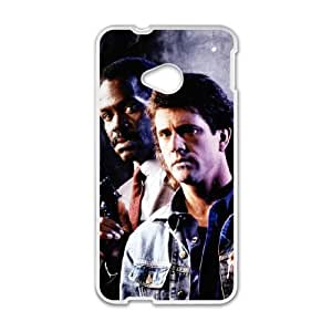 Lethal Weapon HTC One M7 Cell Phone Case White Phone cover R49373767