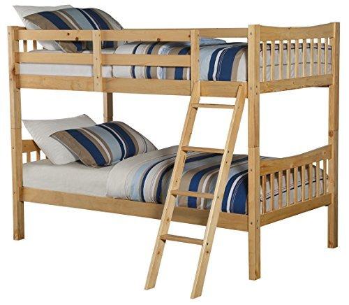 Angel Line 71210-67 Fremont bunk Bed, Natural