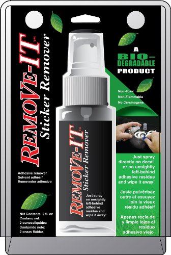 Chroma Graphics 000130 Remove-IT Decal and Adhesive Remover - 2 fl. oz.