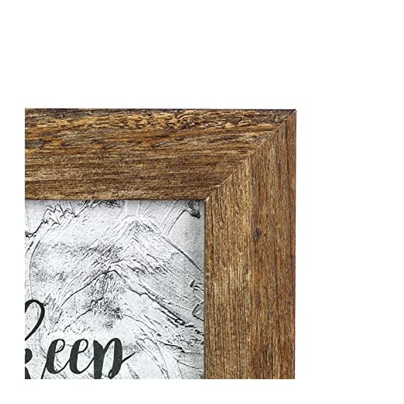 Home&Me Rotten White Picture Frame Wide Molding - Wall Mounting Material Included (5x7-1Pack, Rotten Brown) -  - picture-frames, bedroom-decor, bedroom - 51lSy8F3GQL. SS570  -
