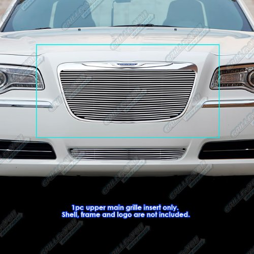 (APS Compatible with 2011-2014 Chrysler 300 300C Billet Grille Grill Insert)