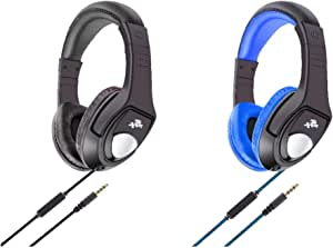 Gaming Headphone with Mic suitable for Frotnite Game and Online Games,Tangle-Free 3.5mm Jack Wired Cord over-Ear Headset with microphone HT31