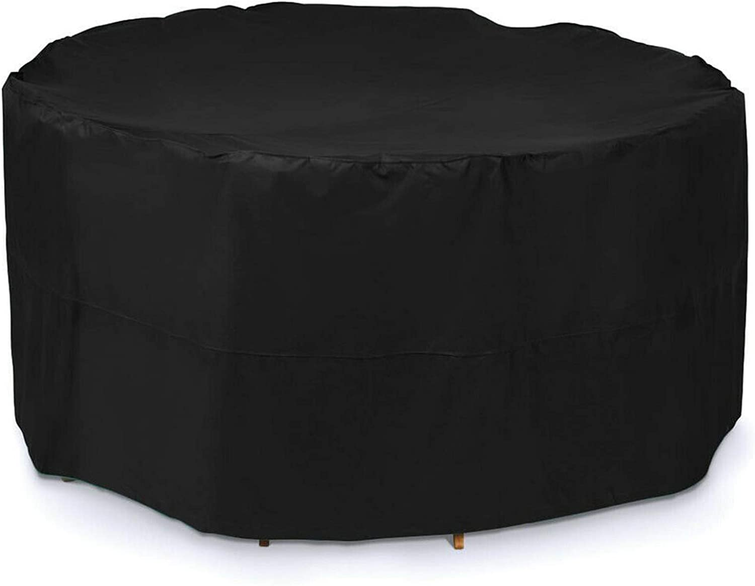 Patio Furniture Covers Round 89x39in, Garden Furniture Covers Waterproof, Furniture Covers for Outdoor Seating Large, Water Resistant Fabric, Anti-UV, for All Weathers