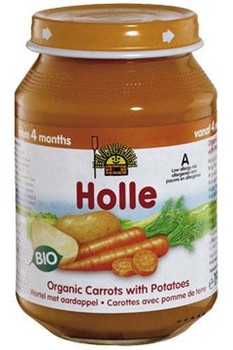 Holle Potito de Zanahoria con Patata (+4 meses) - Paquete de 6 x 190 gr - Total: 1140 gr: Amazon.es: Alimentación y bebidas