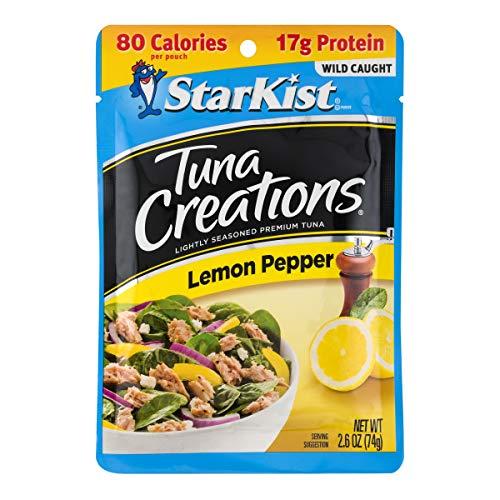 StarKist Tuna Creations, Lemon Pepper Tuna, 2.6 oz Pouch (Tuna Creations Lemon)