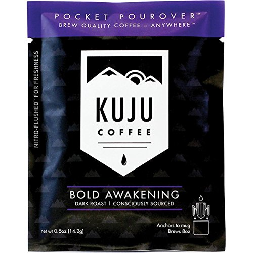 Kuju Coffee Dark Coffee Pocket - D101